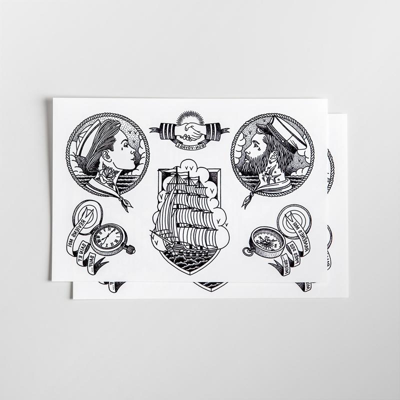 tattoo-sail-the-world-produit-bernard-forever