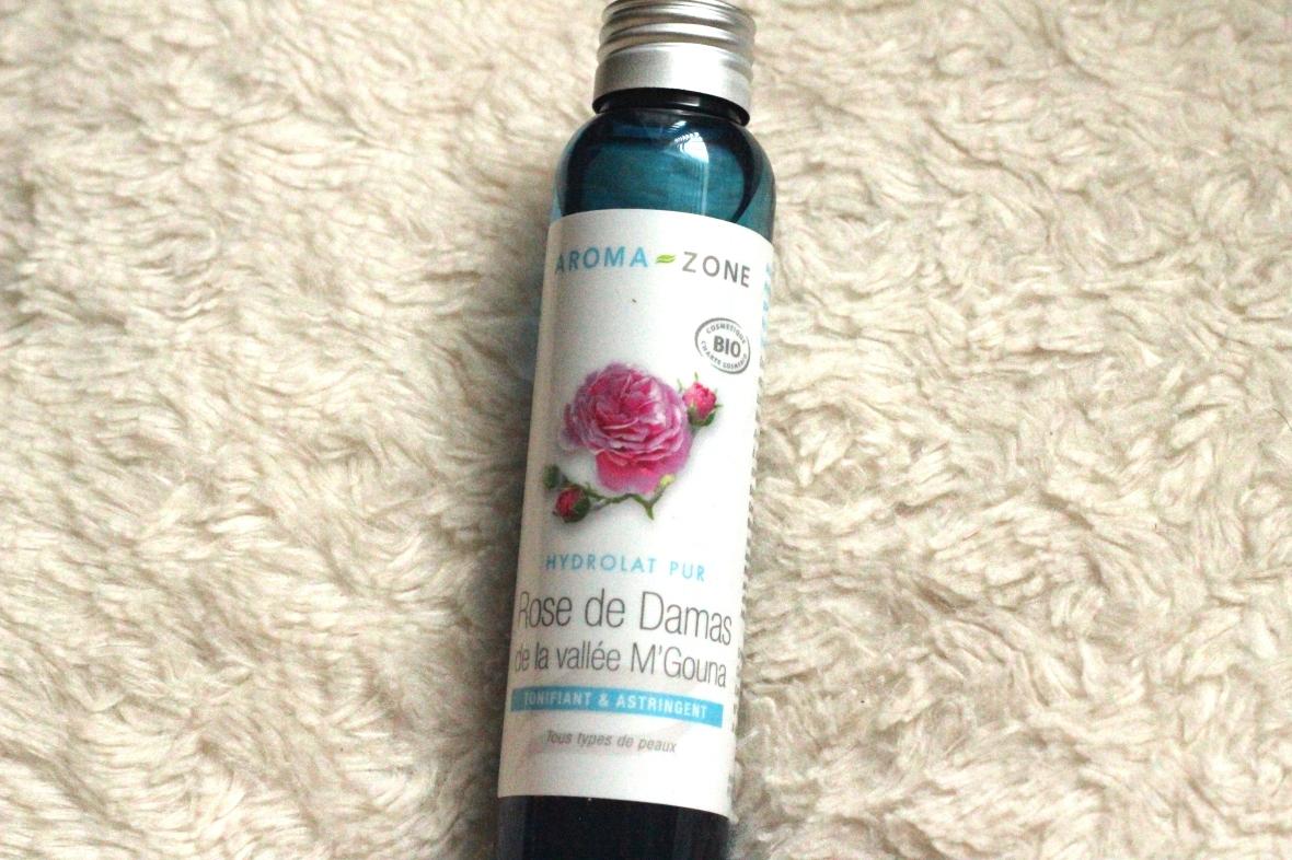 Hydrolat rose de damas Aroma zone Avis