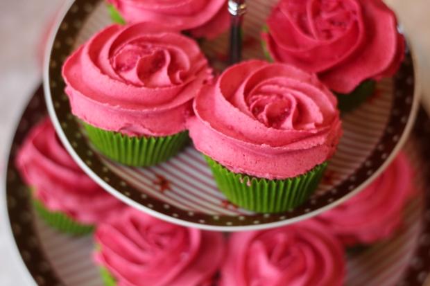 Cupcake rose fait main par gabrielle lille blog dracipana