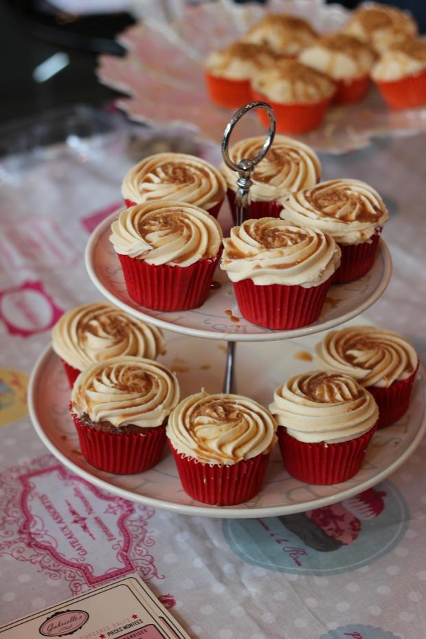 cupcakes triple caramel de gabrielle's cupcakes blog dracipana lille