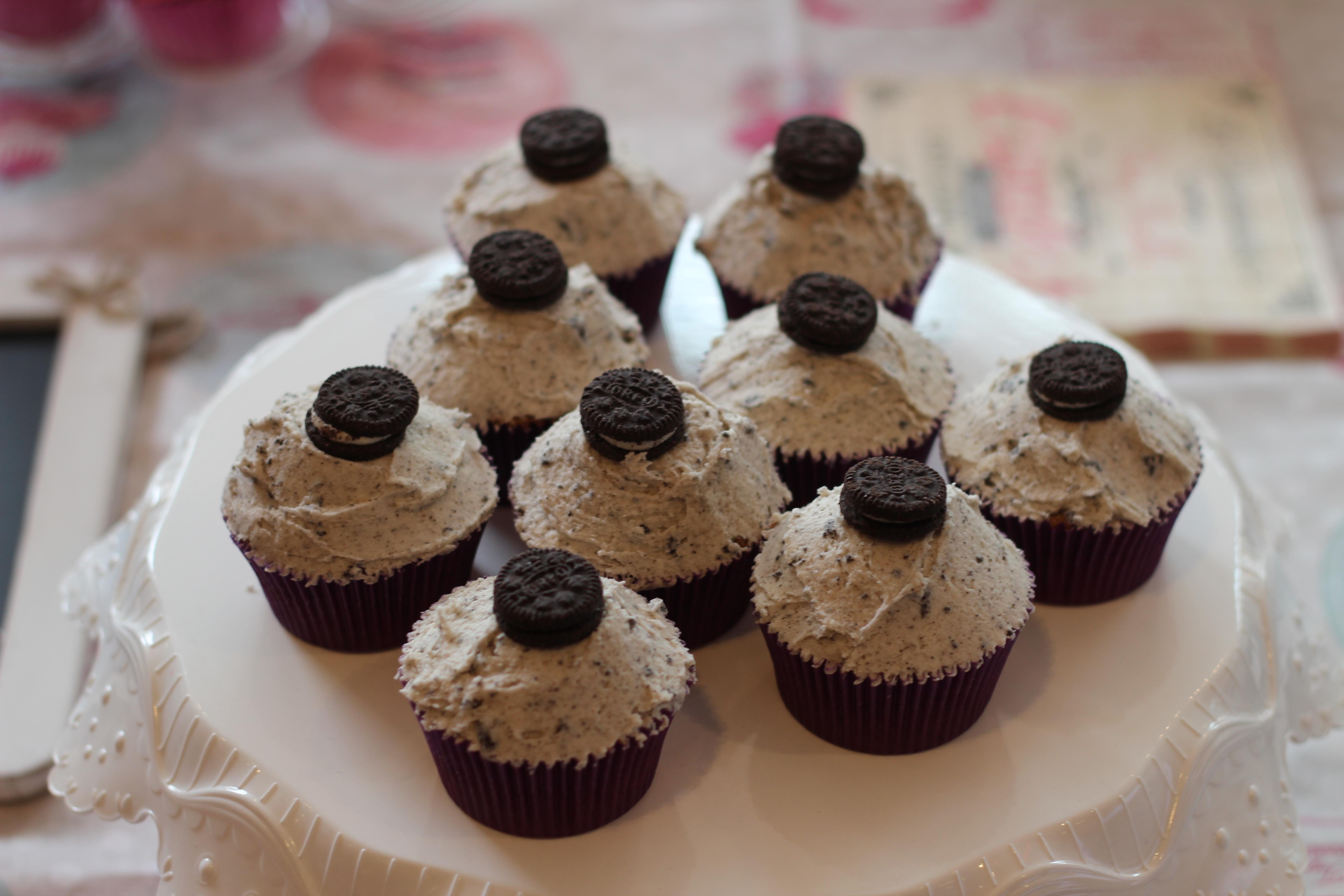 Gabrielle cupcakes oreo blog dracipana