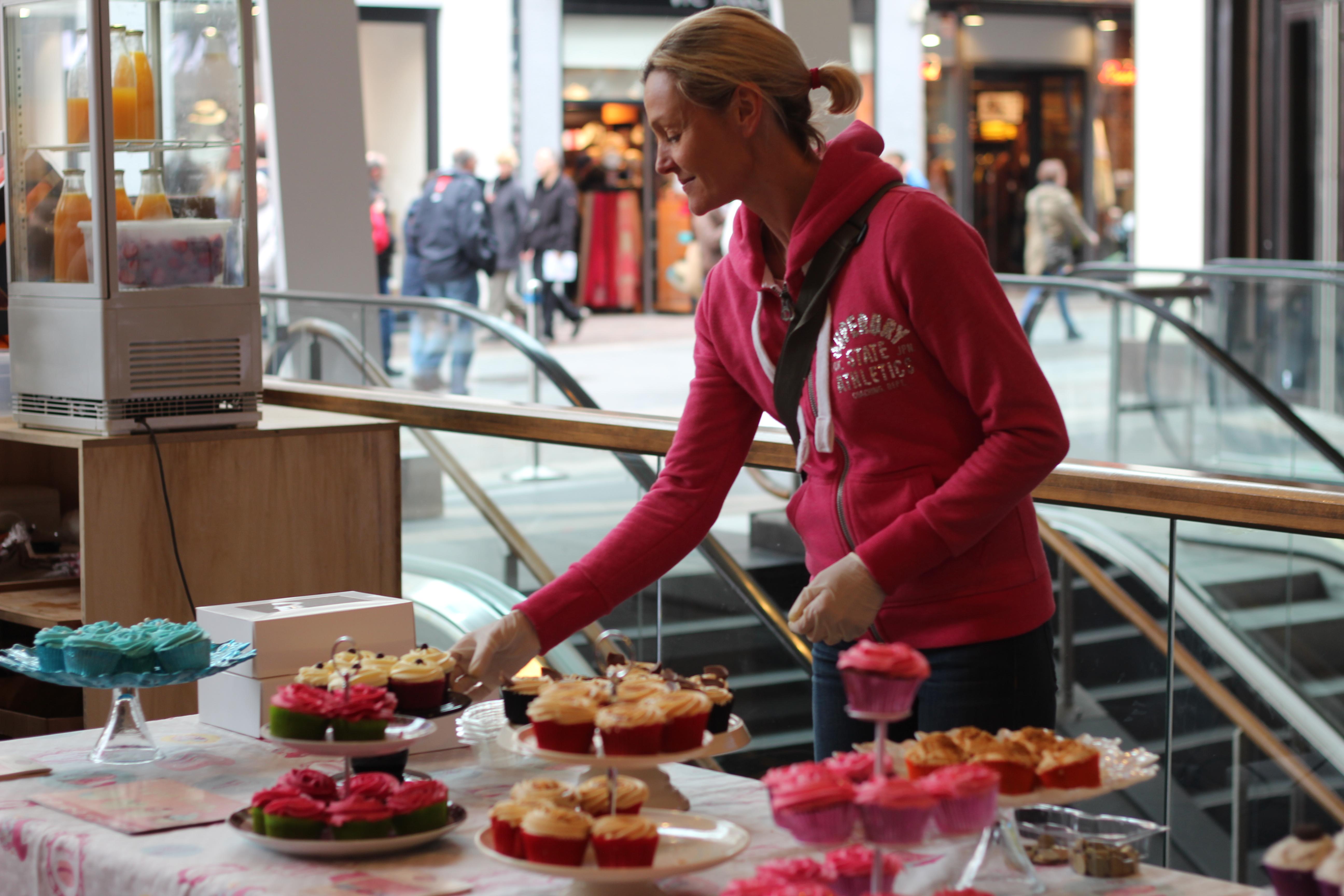 Gabrielle's cupcakes stand blog dracipana