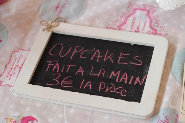 Pancarte cupcakes gabrielle LILLE blog dracipana