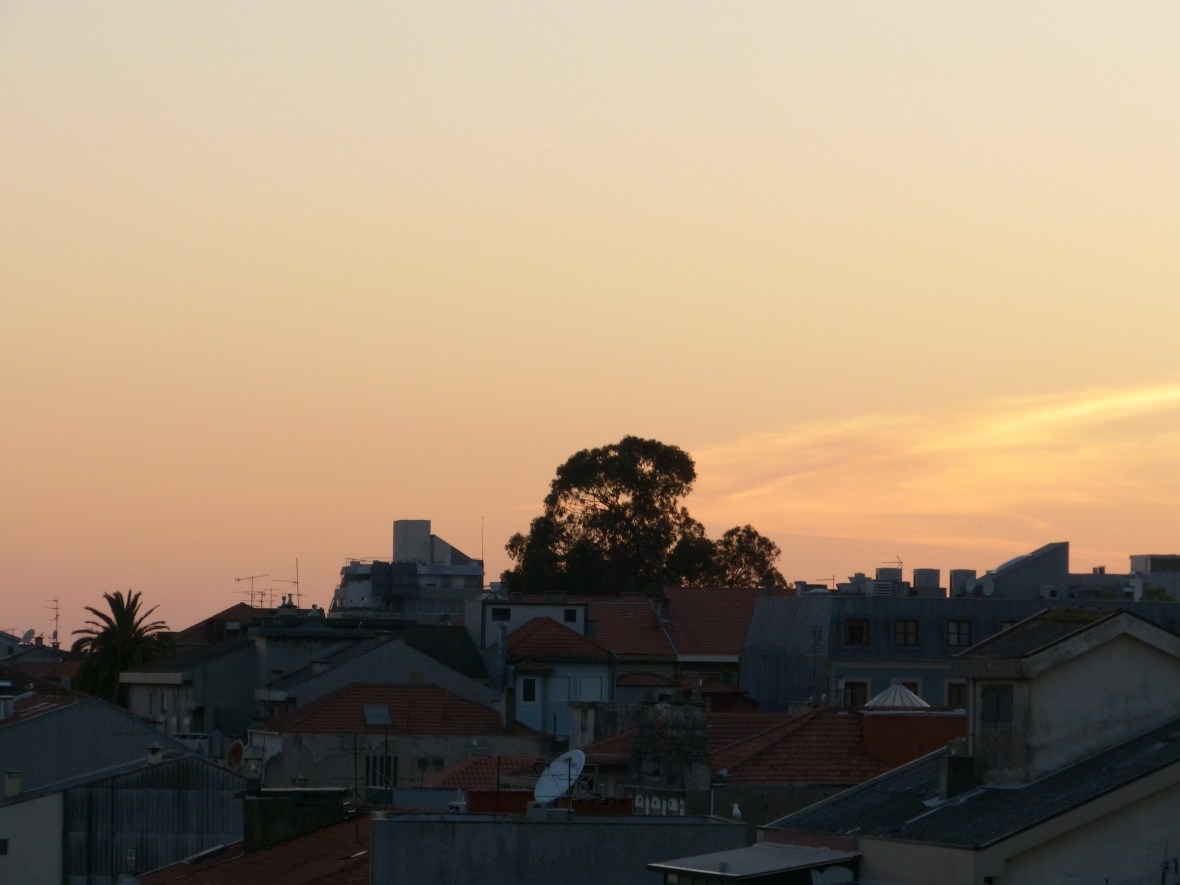Coucher de soleil sur Porto Portugal Blog lifestyle Dracipana.com