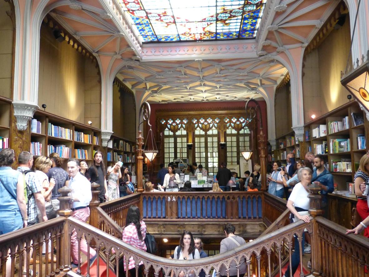 La librairie Lello & Irmão Porto Harry poter blog dracipana