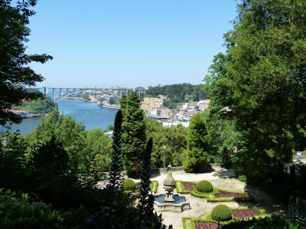 Le jardin palacio de cristal vu sur Porto, dracipana blog lifestyle lille
