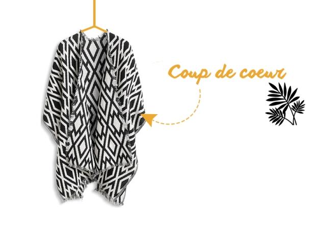 Coup de coeur poncho esprit blog mode lille www.dracipana.com