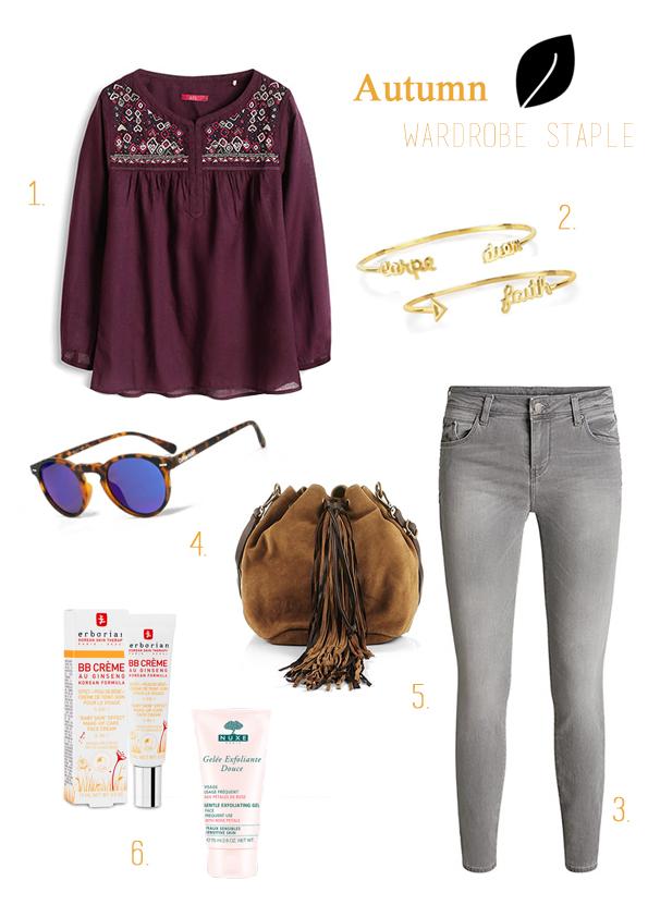 selection mode d'automne blog mode lifestyle lille www.dracipana.com