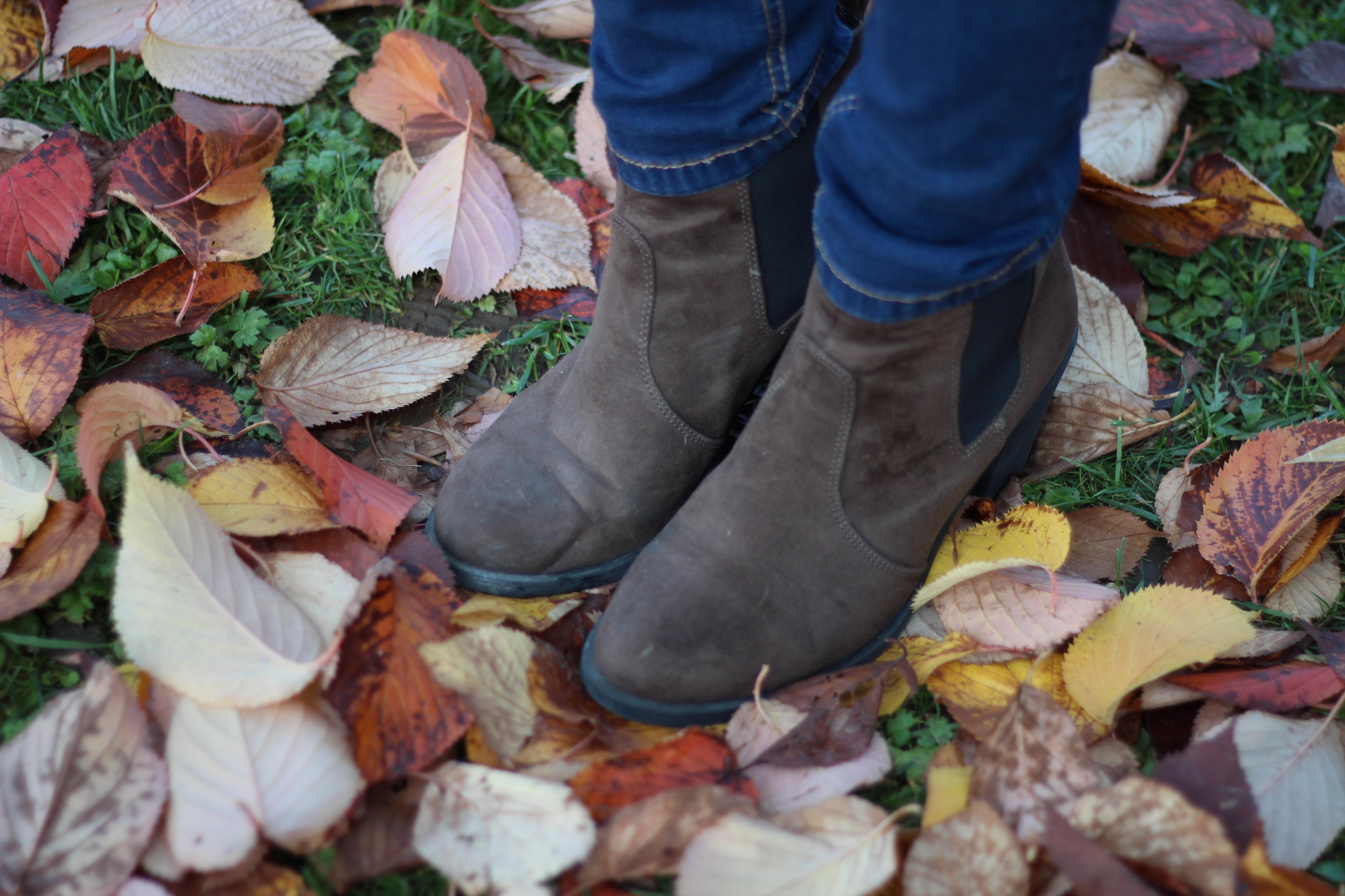 boots marron h&m fall automne blog mode dracipana.com