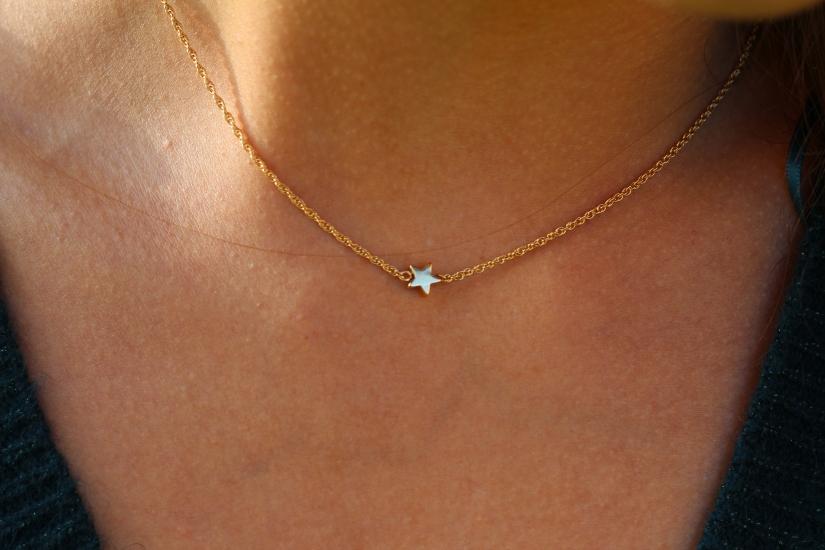 Collier étoile les désinvoltes made in france blog mode dracipana.com Chic elegant boheme parisienne