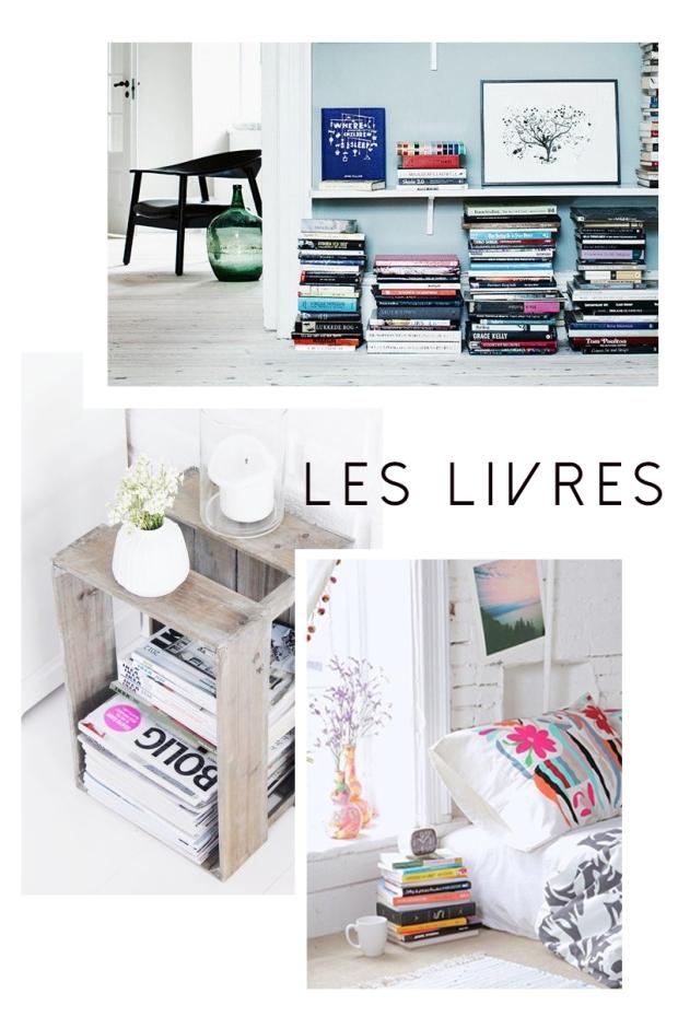 Les livres dans la déco blog déco lille dracipana