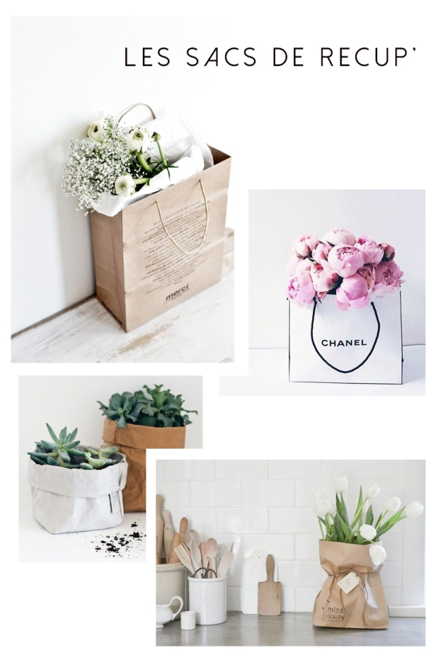 Les sac en papier plastiques - décoration - vintage - pas cher - diy - kinfolk blog déco lille dracipana